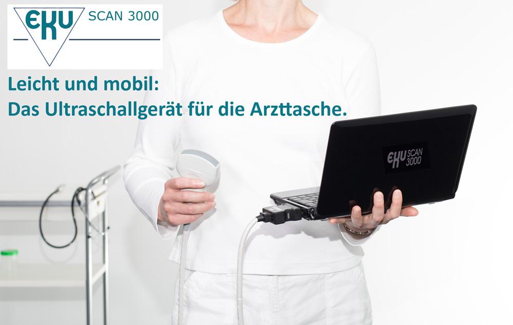 Mobiles Ultraschallgerät